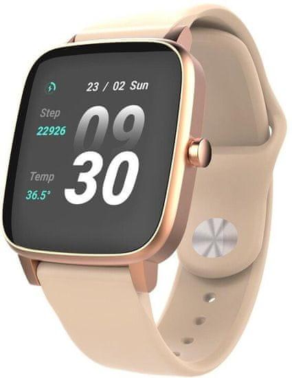 Vivax Smart watch LifeFit, zlaté