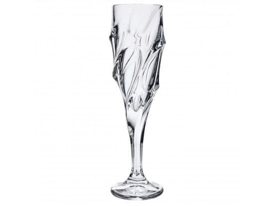 Bohemia Jihlava Bohemia Jihlava sklenice na šampaňské Calypso 180 ML, 6 KS
