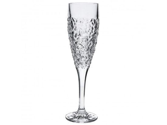Bohemia Jihlava Bohemia Jihlava sklenice na šampaňské Nicolette 180 ml 6KS
