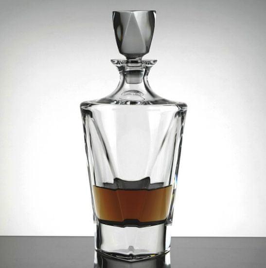 Bohemia Jihlava Bohemia Jihlava karafa na whisky Triangle 750 ML