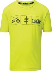Dare 2b Dětské funkční tričko Dare2b RIGHTFUL limetkově žlutá 122_128