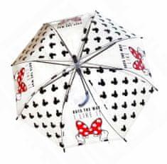 """Eplusm Automatikus esernyő átlátszó """"Minnie éger"""""""