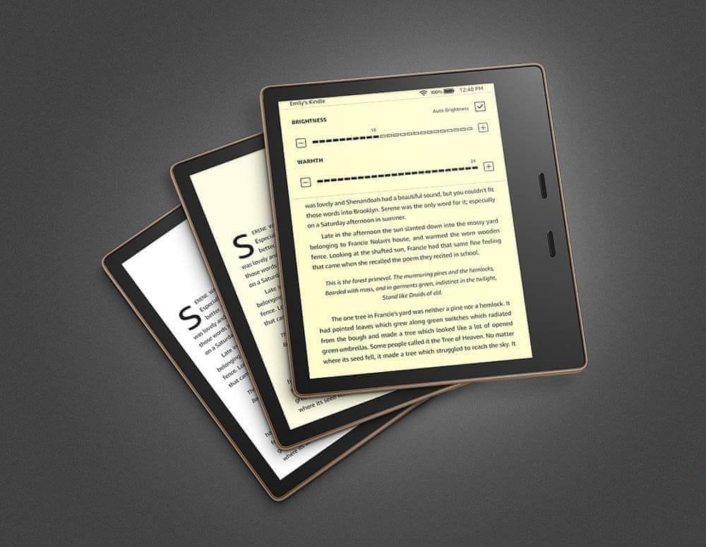 Amazon Kindle Oasis 3 2019, Black - S REKLAMOU