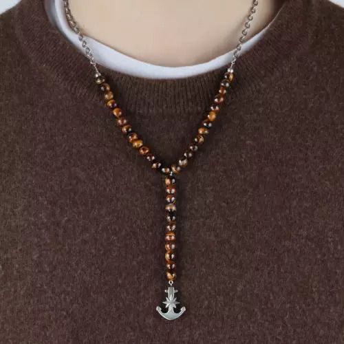 Sector Jewels Fashion oceľový náhrdelník Natural SALU02