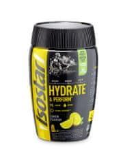 Isostar prah za pripravo izotonične pijače z ogljikovimi hidrati, vitamini in minerali, limona, 400 g