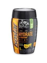 Isostar prah za pripravo izotonične pijače z ogljikovimi hidrati, vitamini in minerali, pomaranča, 400 g