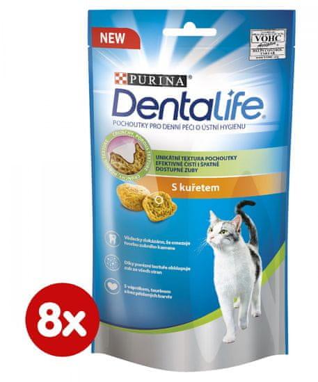 DentaLife Dentalife Cat s kuraťom 8 x 40 g