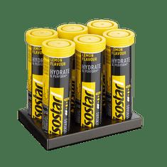 Isostar šumeče tablete za pripravo izotonične pijače, limona, 6 x 120 g, 5+1 gratis