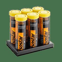 Isostar šumeče tablete za pripravo izotonične pijače, pomaranča, 6 x 120 g, 5+1 gratis