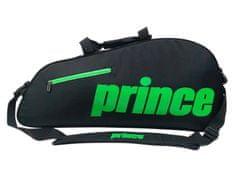 Prince Thermo 3 torba za tenis, črno-zelena
