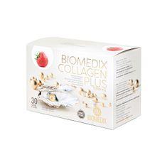 Biomedix Kolagén Plus Jahoda 30 sáčkov
