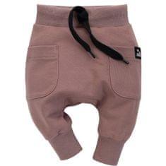 PINOKIO 1-02-2101-520Q-CB Dreamer dječje hlače, smeđe, 92