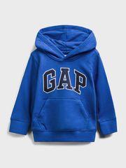 Gap Otroška Pulover Logo front pocket hoodie 3YRS