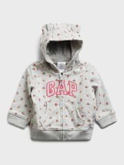 Gap Baby Pulover Logo arch hood 3-6M