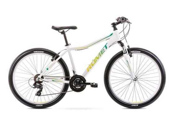 Romet Jolene 6.0 2021 planinski bicikl, M-17, bijelo-zelena