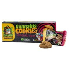 Cannabis Airlines konopné sušenky STRAWBERRY DREAM 6 x 20 g