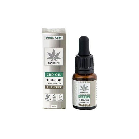 cannaline CBD olej 10% bez THC (1000 mg) 10 ml