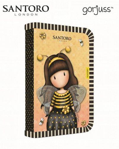 Penál 1 patrový 2 chlopně, prázdný Bee-loved
