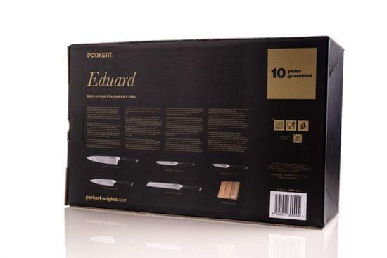Porkert komplet nožev Eduard z bambusovim blokom