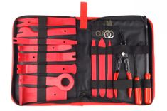 AMIO Komplet za odstranjevanje oblazinjenja / demontažo radija 19 kosov v torbici