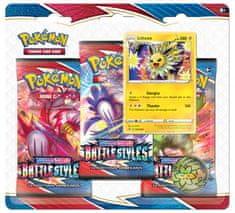 Pokémon TCG: SWSH05 Battle Styles - 3 Blister Booster Jolteon