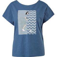 s.Oliver T-shirt damski luźny krój 14.104.32.X338.57D0 (Wielkość 34)