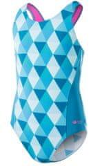 AquaWave dívčí jednodílné plavky Binita Jr 140 světle modrá