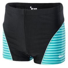 AquaWave Idaro Jr kupaći kostim za dječake, crni, 140