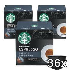 Starbucks Dark Espreso Roast 12 kapsúl 66 g 3 balenia