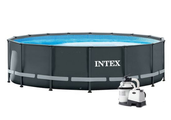 Intex Bazén Florida Premium 4,88 × 1,22 m + Sand 4 Set - 28324/26326NP (10340037)