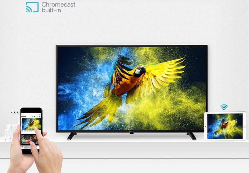 metz tv telewizor hd 2021 chromecast