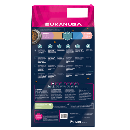 Eukanuba Adult Large & Giant Lamb 12 kg