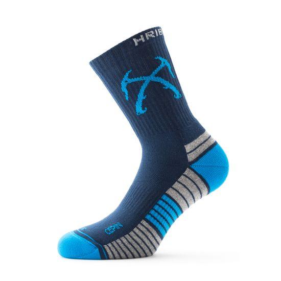 Hribovc.si Pohodne nogavice Cepin - modre