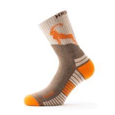 Hribovc.si Pohodne nogavice Kozorog - oranžne, 35 - 37