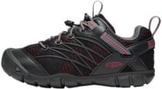 KEEN Gyerek outdoor cipő Chandler Cnx Y-Raven/Fiery Red, US 2 (EU 34)