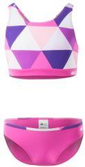 AquaWave dvodijelni kupaći kostim za djevojčice Rodani Jr, 140, ružičasti