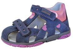 Protetika sandale za djevojčice Katy grey, 19, sive