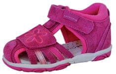 Protetika sandale za djevojčice Sandra fuxia, 19, ružičaste