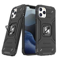 MG Ring Armor plastika ovitek za Huawei P40 Lite, črna