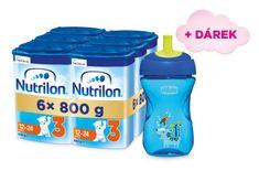 Nutrilon 3 batoľacie mlieko 6x 800g, 12+