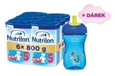 Nutrilon 5 dětské mléko 6x 800g, 36+