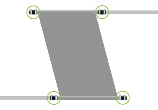 Multiplast Sada pro připojení a zaslepení panelu (d50)