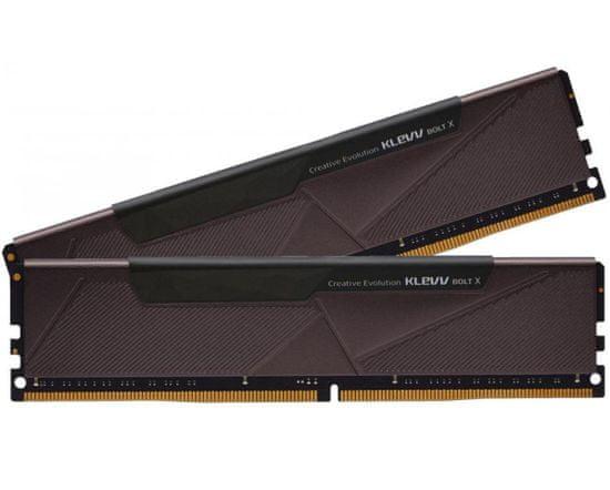 Klevv Bolt X pomnilnik (RAM), DDR4 16 GB (2x8GB), 3200 MHz, CL16, 1.35 V (KD48GU880-32A160U)