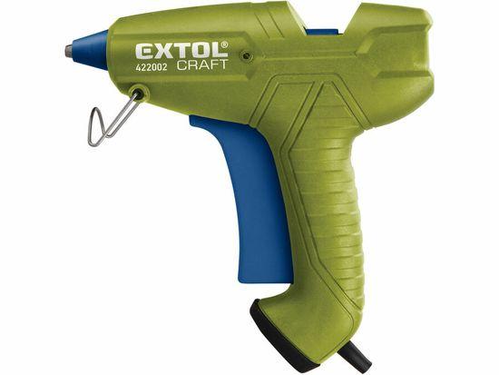 Extol Craft Pištoľ lepiaca tavná, max. príkon 200W, pracovný príkon 65W, tavné tyčinky pr.11.2mm