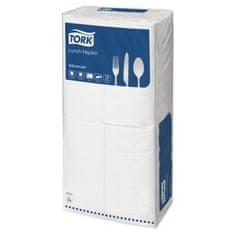 Tork Papírové ubrousky 2vrstvy 33x33cm bílé 1/8 200ks