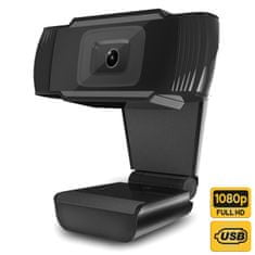 Platinet PCWC1080 spletna kamera, USB 2.0, 1080p, mikrofon