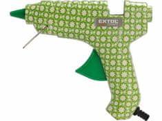 Extol Craft Pištoľ lepiaca tavná, pracovný príkon 40W, tavné tyčinky pr.11.2mm, kvetinová potlač