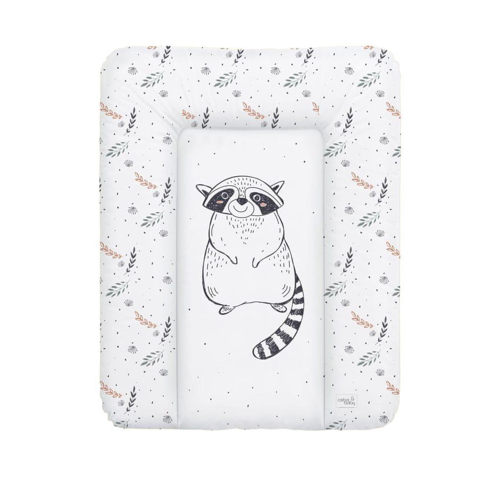Ceba Baby Podložka přebalovací měkká 50 x 70 cm Raccoon