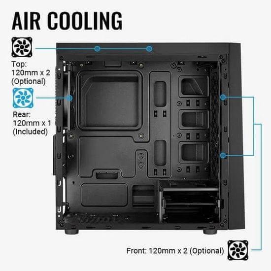 Aerocool PC skříň Bolt Mini