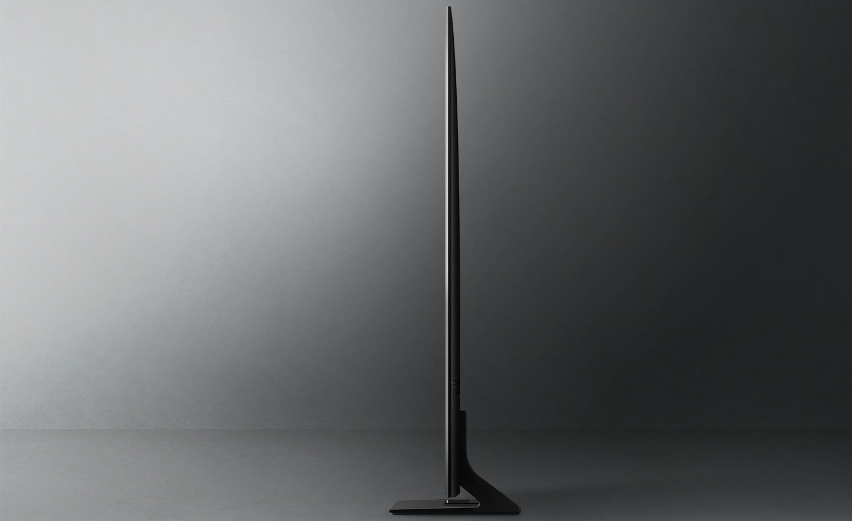 samsung tv televízió edge led 4K 2021 airslim design 25 mm